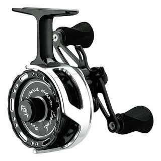 13 Fishing Black Betty Inline Ice Reel