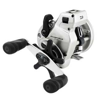 Daiwa Accudepth Plus B Line Walleye Special Level Wind Fishing Reel
