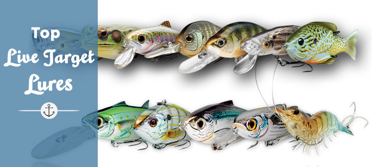 best live target lures for sale