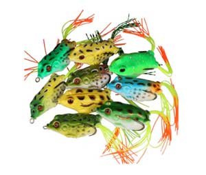 Goture Topwater Frog Lure Kit