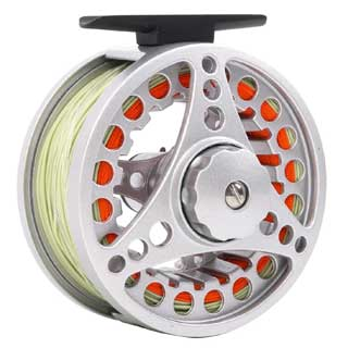 Maxcatch BLC Fly Reel Pre-loaded with Fly Line Diecast Aluminium Body