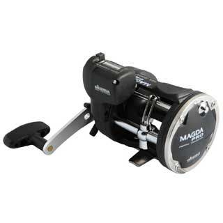 Okuma Magda Pro Line Counter Level Wind Trolling Reel