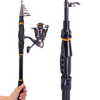 Sougayilang Saltwater/Freshwater Fishing Rod Kit