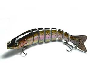 Supertrip 5/8-Ounce 5-Inch 8 Segment Swimbait