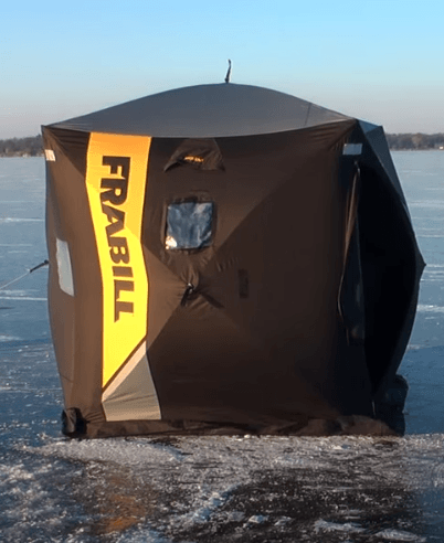 Frabill Angling Shelters Are Warm and Spacious for Your next Ice