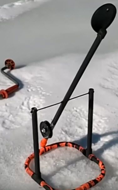 Homemade Ice Fishing Traps