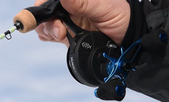 Inline Ice Fishing Reels