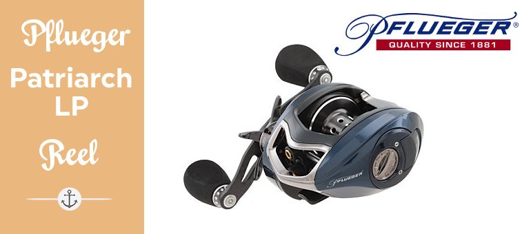 Pflueger Patriarch Low Profile Reel Feature