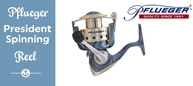 Pflueger President Spinning Reel Feature