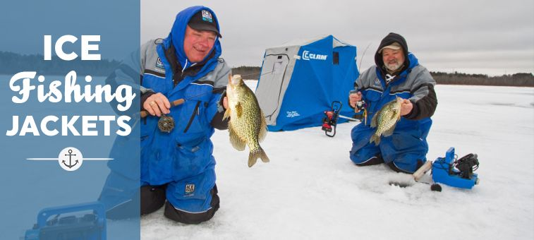 ice fishing jackets feature
