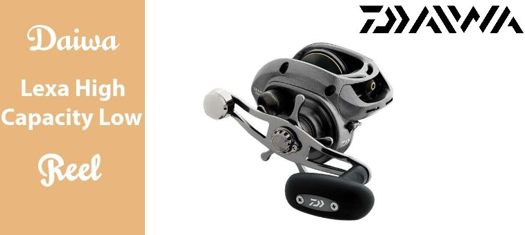 Daiwa Lexa High Capacity Low