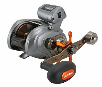 Okuma Coldwater 350 Low Profile Linecounter Reel 5