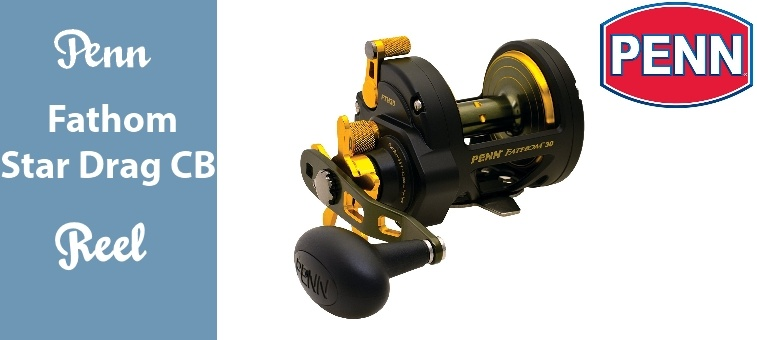 Penn Fathom Star Drag Conventional Baitcast Reel Review