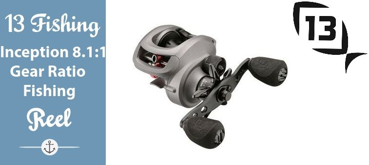 13 Fishing Inception 8 1 1 Gear Ratio Fishing Reel