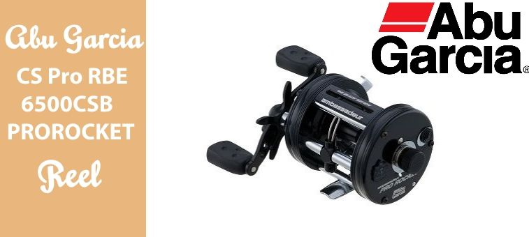 Abu Garcia CS Pro Rocket Black Edition 6500CSBPROROCKET Reel