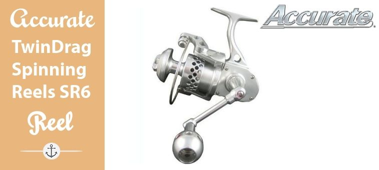 Accurate TwinDrag Spinning Reels SR6