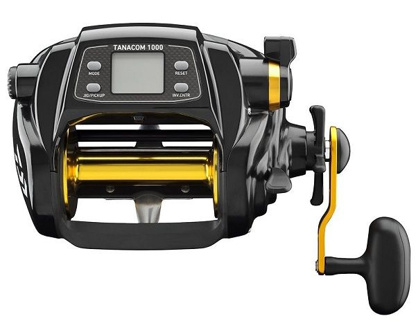 Daiwa TANACOM1000 Dendoh Fishing Reel, 30 40 lb, Black 3