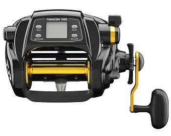 Daiwa TANACOM1000 Dendoh Fishing Reel, 30 40 lb, Black 5