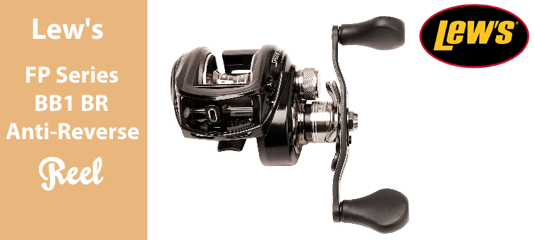 Lews Fishing Pro Series BB1 Baitcast Reverse Anti-Reverse Reel