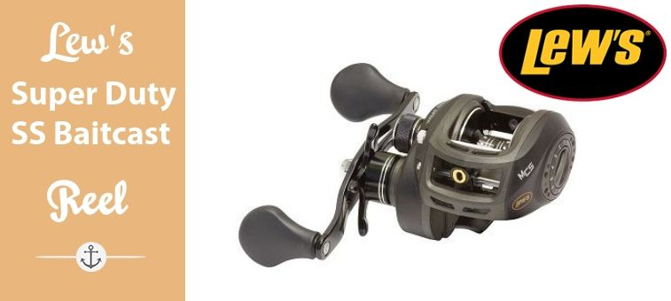 Lews Super Duty Speed Spool Baitcast Reel