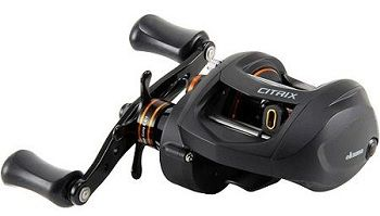 Okuma Citrix Large Capacity 350 Size Low Profile Baitcaster with Paddle Handle 5