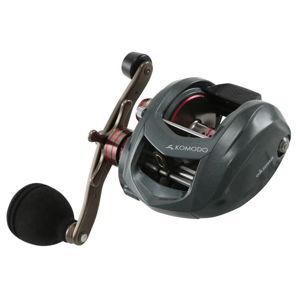 Okuma Komodo Large Capacity Low Profile with Power Handle 3