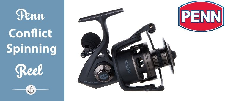 Penn Conflict Spinning Reel CFT6000 Review