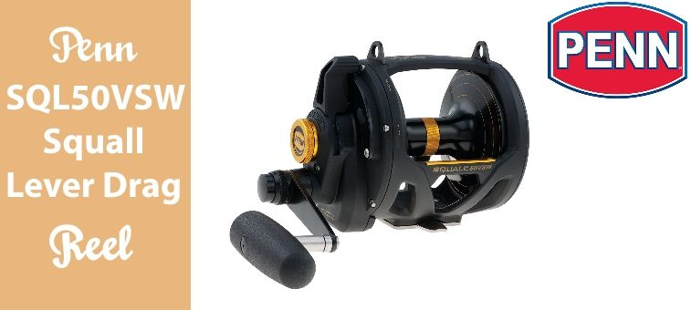 Penn SQL50VSW Squall Lever Drag Reel Review