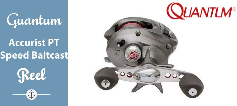 Quantum Accurist PT Speed Baitcast Reel
