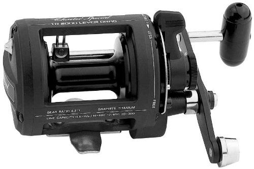 Shimano TR2000LD Charter Special Salt Water Reel Levelwind with 14480, 17400 and 20300 Line Capacity 3