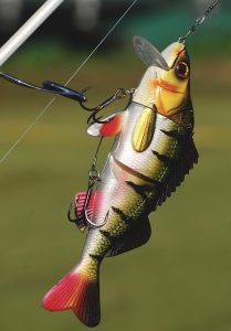 Muddy water fishing lure