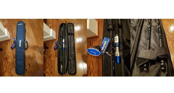 Okuma NOMAD 3+1 Piece Saltwater Travel Rods 3