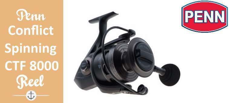 Penn Conflict Spinning Reel CFT8000 Review