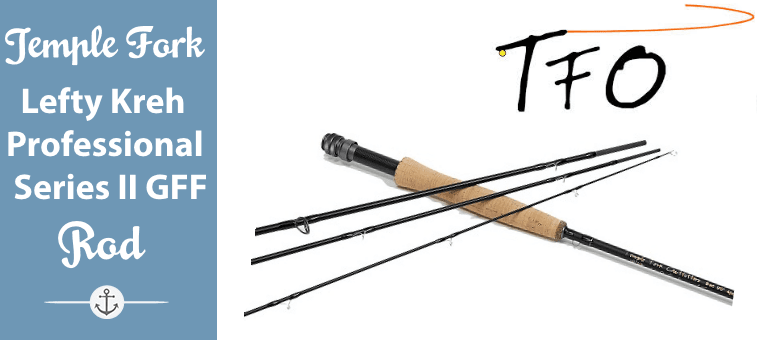 TFO Temple Fork Lefty Kreh Professional Series II Graphite Fly Fishing Rod