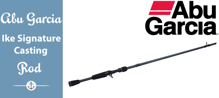 Abu Garcia Ike Signature Casting Rod Featured