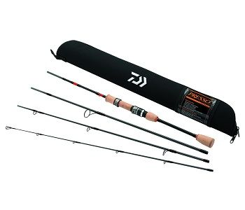 Daiwa Presso Ultralight Pack Spinning Rod 1