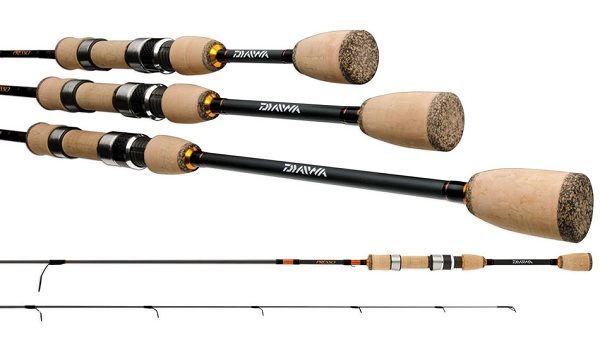 Daiwa Presso Ultralight Pack Spinning Rod 3