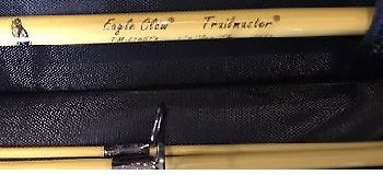 Eagle Claw Trailmaster Light Spin and Fly Rod 7 ft 6 in 4pc 2