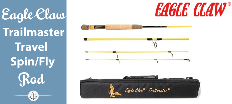 Eagle Claw Trailmaster Travel Spin-Fly Fishing Rod Featured