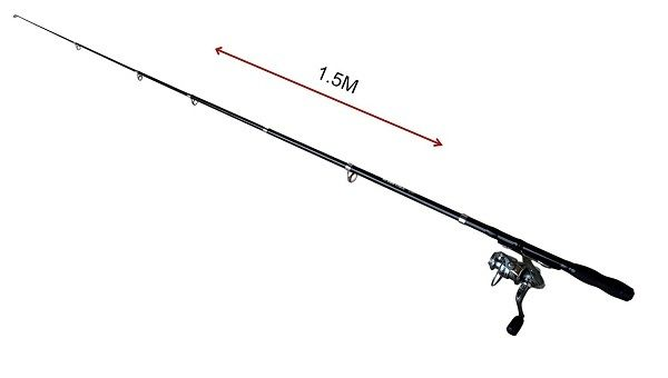 Fishing Rod Kit Backpacking Ultralight Spinning Rod&Reel 3