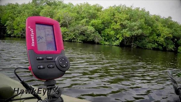 HawkEye FT1PXC Fishtrax Fish Finder with HD Color Virtuview Display 3