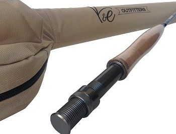 K&E Outfitters Drift Series 5wt Fly Fishing Rod and Reel Complete Package 5