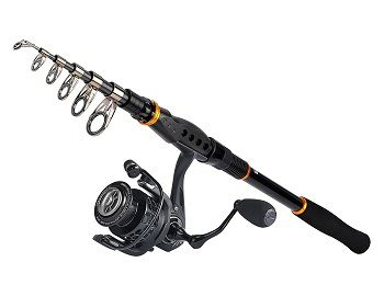 KastKing Combo Spinning Reel Spinning Travel Fishing Rod Combo 1