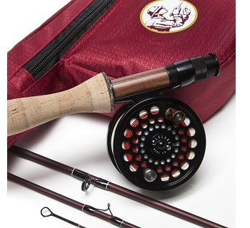 Leland Rod Co Sonoma Starter Trout Fly Fishing Combo 2