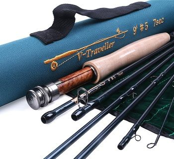 Maxcatch 7 pc Fly Rod IM10 CTRFFCT 1