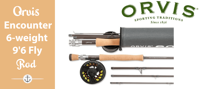 Orvis Encounter 6-weight 9 ft 6 Fly Rod Outfit Featured