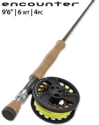 Orvis Encounter 6 weight 9.6 Fly Rod Outfit 1