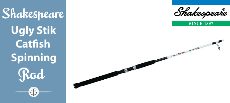 Shakespeare Ugly Stik Catfish Spinning Rods Featured