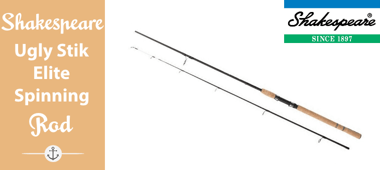 Shakespeare Ugly Stik Elite Spinning Rod Featured