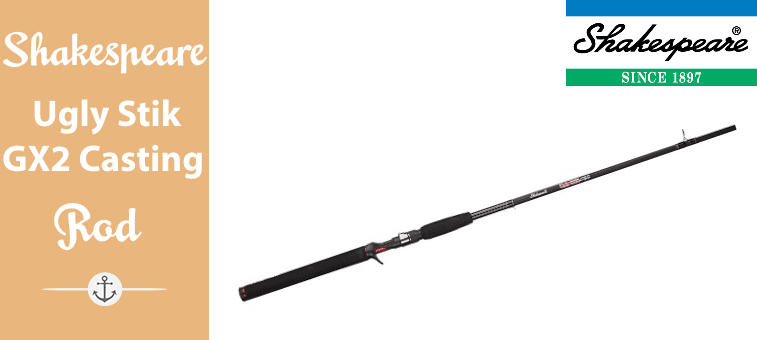 Shakespeare Ugly Stik GX2 Casting Rod Featured